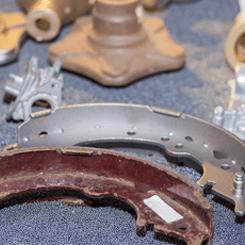 ניקוי חול - הכנה לצביעה חשמלית בתנור